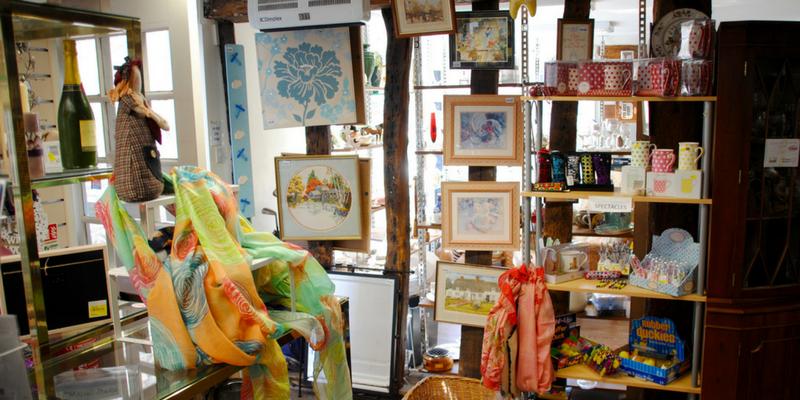 St Clare Saffron Walden charity shop