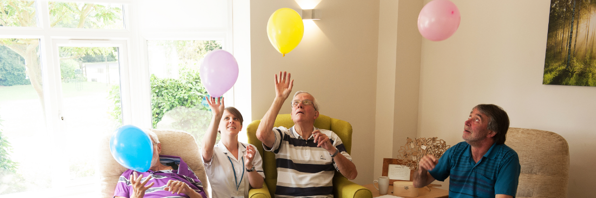 Patients with balloons