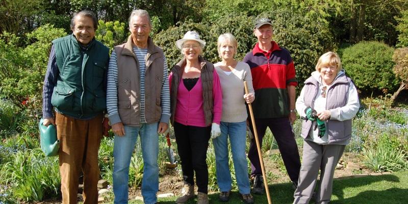 St Clare Gardening Volunteers
