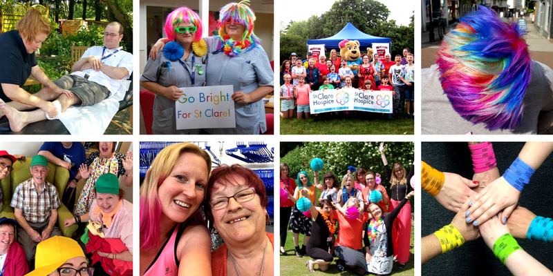 West Essex 'Go Bright' for St Clare - St Clare Hospice