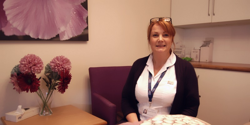 Complementary Therapist at St Clare