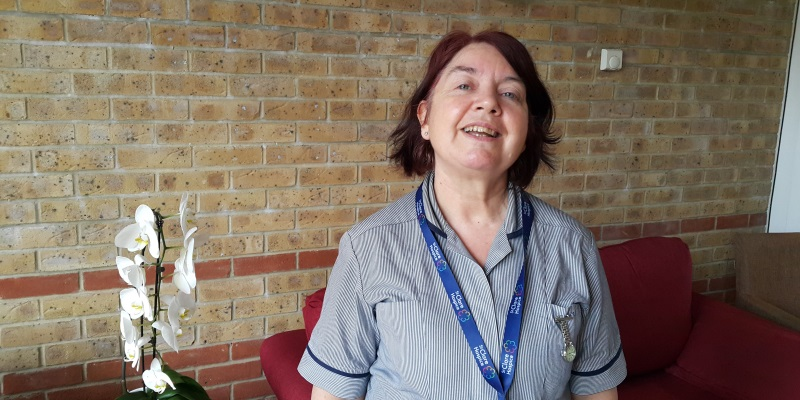 Penny, senior staff nurse at St Clare