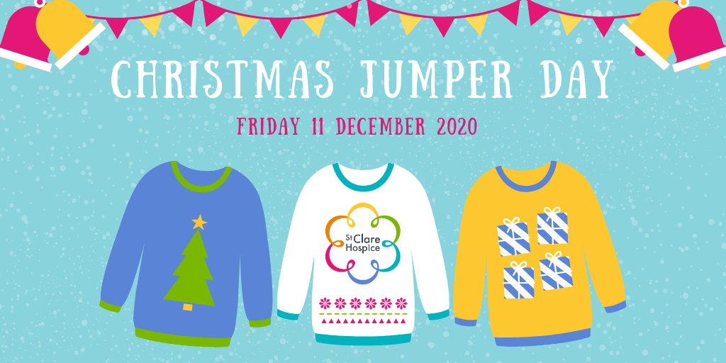 Christmas Jumper Day St Clare Hospice