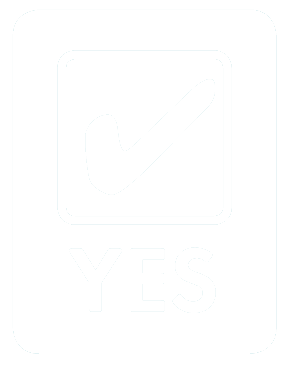 Tick yes logo