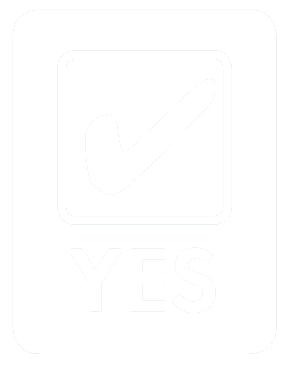Tick yes logo