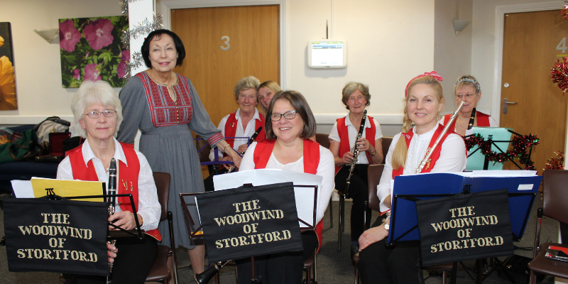 The woodwind of Stortford band